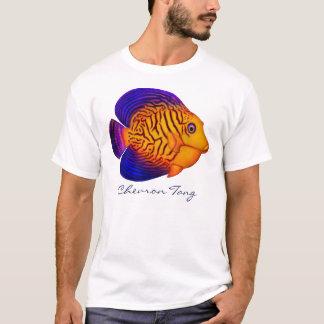 Coral Reef Chevron Tang Fish T-Shirt