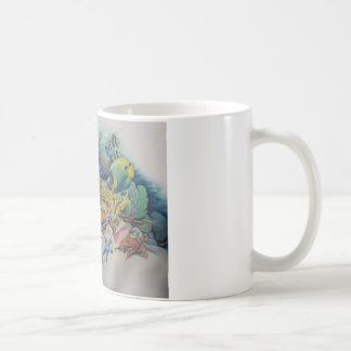 Coral Reef Fish in Symphony Basic White Mug
