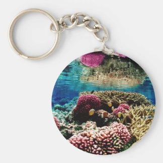 Coral Reef Key Ring
