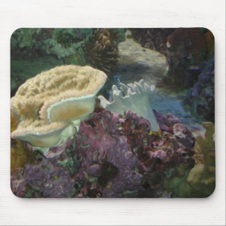 Coral Reef Oil Painting Mousepad