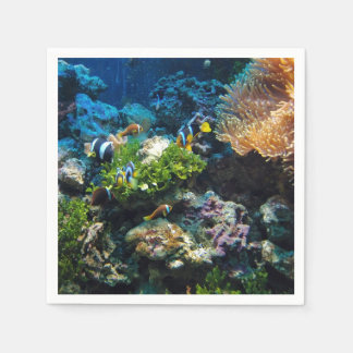 Coral Reef paper napkins Disposable Serviette