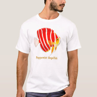 Coral Reef Peppermint Angelfish T-Shirt