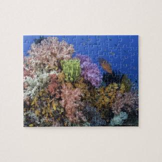 Coral reef, uderwater view jigsaw puzzle