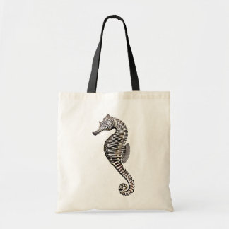 Coral Reef Zebra Seahorse Bag