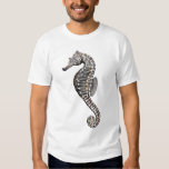 Coral Reef Zebra Seahorse T-Shirt