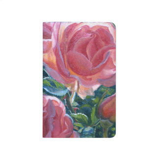 """Coral Roses"" Notebook"