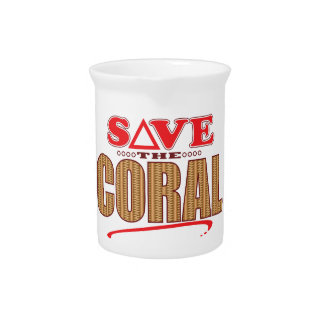 Coral Save Pitcher