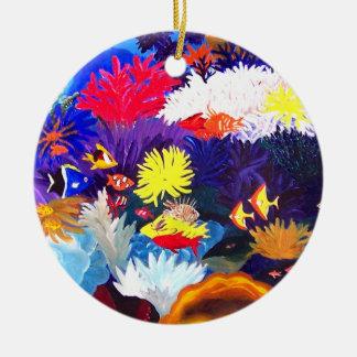 Coral Sea Christmas Ornament