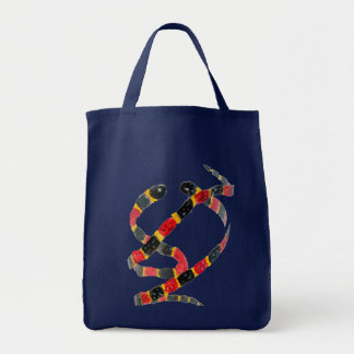 Coral Snake Art Tote Bag