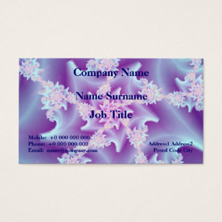Coral Spiral Business Card