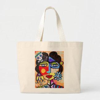 Coral Sugar Skull Bags