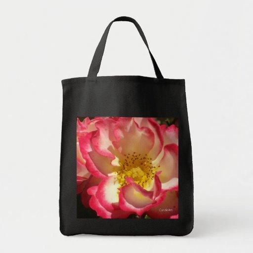 Coral-Tinged Rose Bags