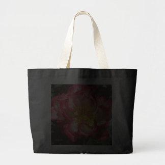 Coral-Tinged Rose Jumbo Tote Bag