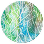 Coral View Porcelain Plate
