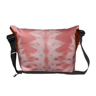 Coral Wash Courier Bag