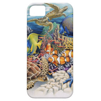 Coral Waters With Tropical Fish iPhone 5 Cases