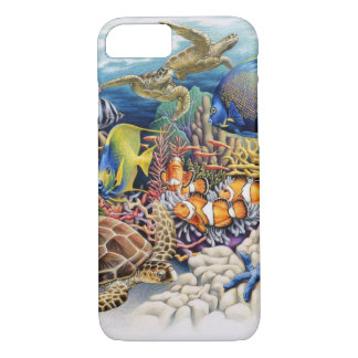 Coral Waters With Tropical Fish iPhone 8/7 Case