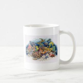 Coral Waters With Tropical Fish Mug