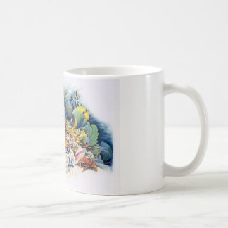 Coral Waters With Tropical Fish Coffee Mugs