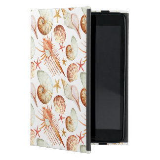 Coral With Shells And Crabs Pattern Cover For iPad Mini