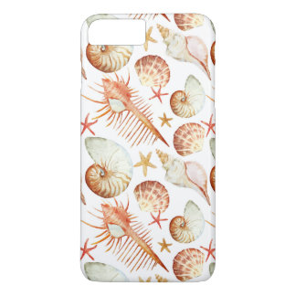 Coral With Shells And Crabs Pattern iPhone 8 Plus/7 Plus Case