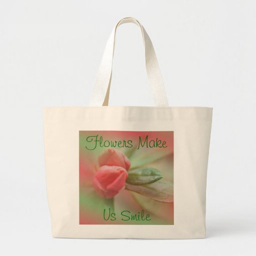 CoralAzaleaBudsBag- customize as needed Tote Bag