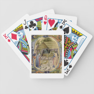 Corale / Graduale no.5  Historiated initial 'P' de Bicycle Playing Cards