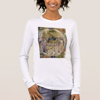 Corale / Graduale no.5  Historiated initial 'P' de Long Sleeve T-Shirt