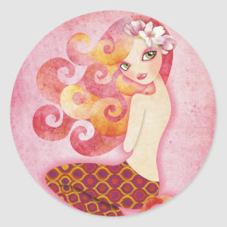 Coraleen Mermaid Stickers Seals