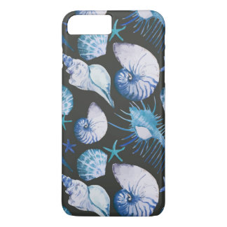 Corals With Shells Pattern iPhone 8 Plus/7 Plus Case