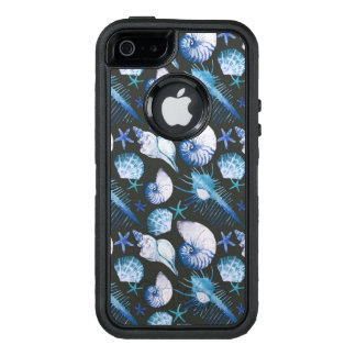 Corals With Shells Pattern OtterBox Defender iPhone Case