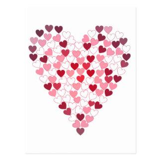 Corazon de Corazones - Heart of Hearts Postcard