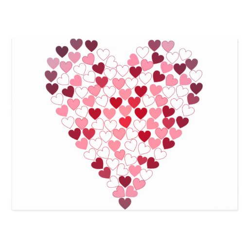 Corazon de Corazones - Heart of Hearts Post Card