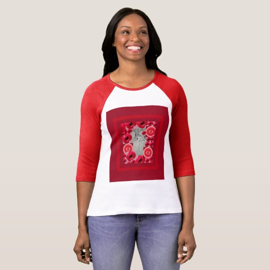 Corazon design from Drawing by Beth Vallory T-Shirt