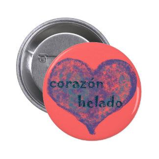 Corazon Helado 6 Cm Round Badge