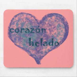Corazon Helado Mouse Pad