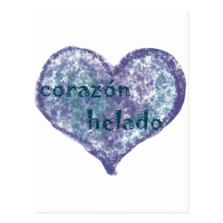 Corazon Helado Post Cards