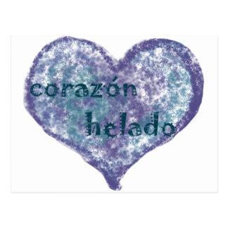 Corazon Helado Post Card
