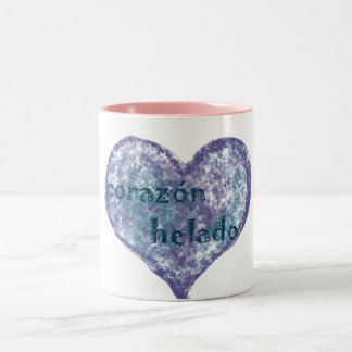 Corazon Helado Two-Tone Mug