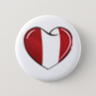 corazon-peruano-www_trucoslive_com 6 cm round badge