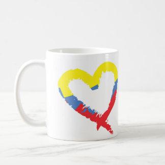 """Corazon Venezolano"" Cafe Coffee Mug"