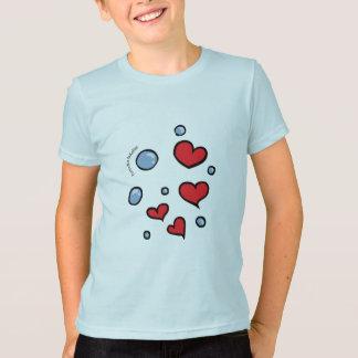 corazones con burbujas T-Shirt