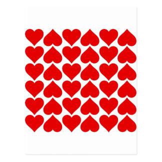 corazones postales