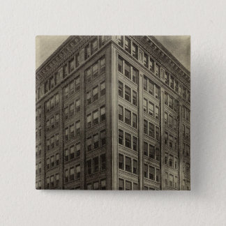 Corbett Bldg, Portland, Oregon 15 Cm Square Badge