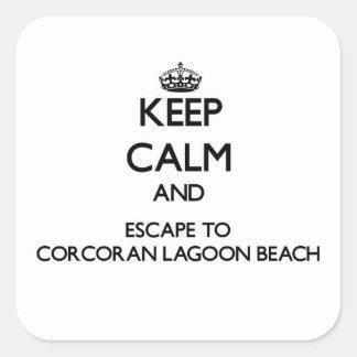 CORCORAN-LAGOON-BEAC1366161.png Square Sticker