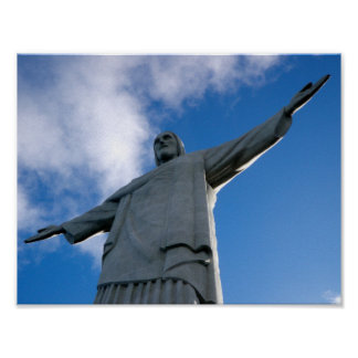 Corcovado Christ the Redeemer Statue Poster