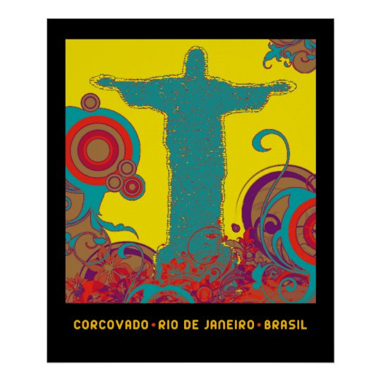 Corcovado for walls poster