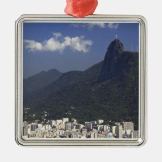 Corcovado overlooking Rio de Janeiro, Brazil Christmas Ornament