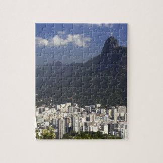 Corcovado overlooking Rio de Janeiro, Brazil Jigsaw Puzzle