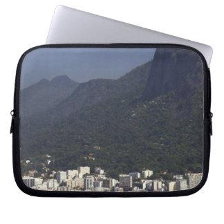 Corcovado overlooking Rio de Janeiro, Brazil Laptop Sleeve